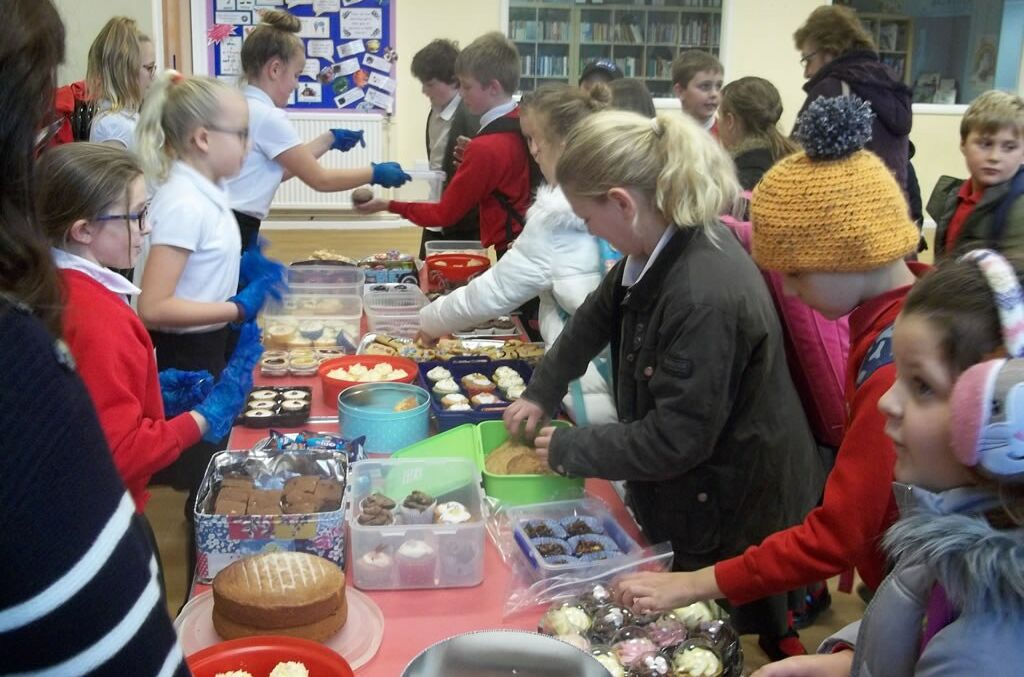 Charity Bake Sale Inspired by Fair Trade Lesson