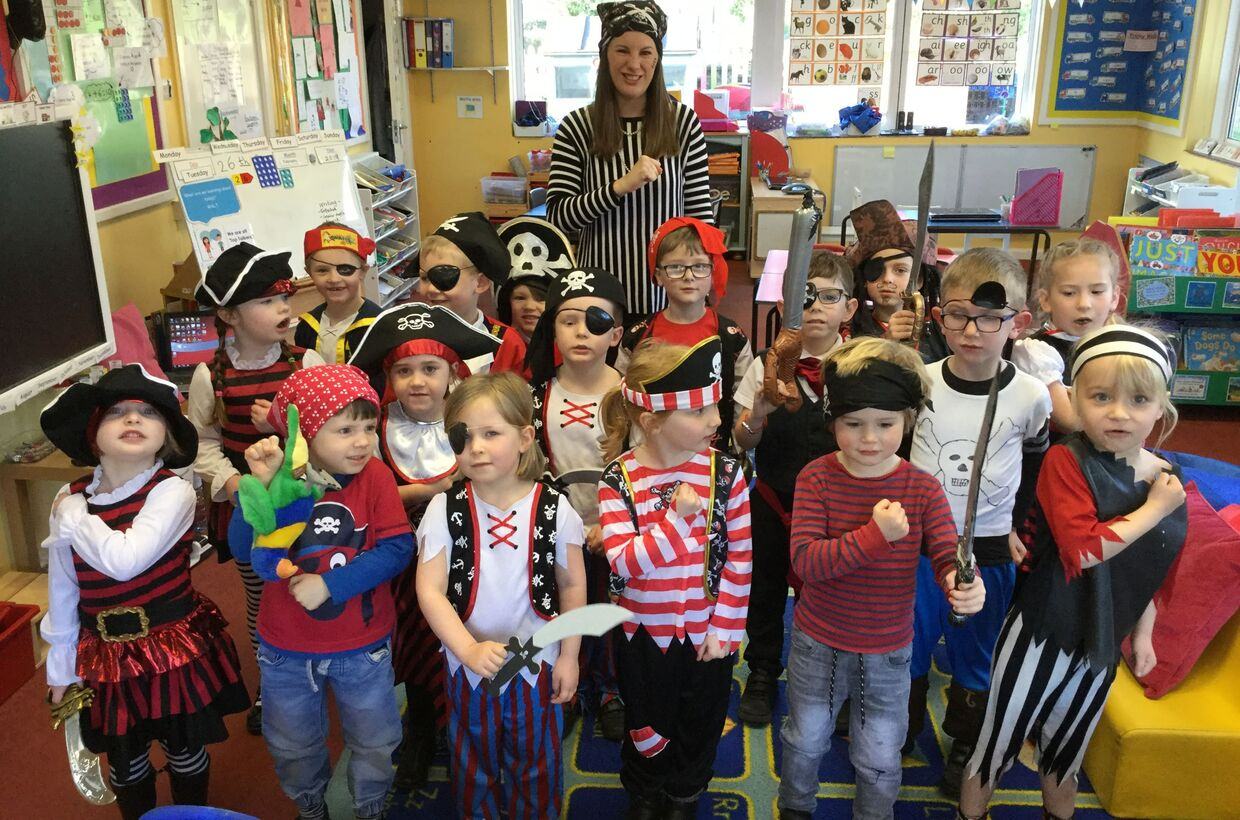 Pirate Day in Holly Class!