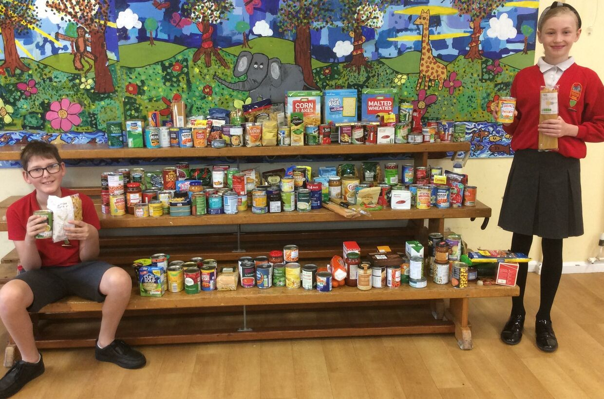 Harvest Festival Collection Demonstrates Value of Generosity